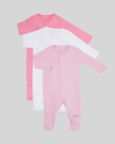 Sleepsuit - Pack Of 3 (Newborn-9 months)