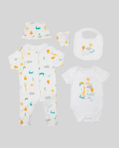 Organic Set - Pack of 5 (Newborn-12 months)