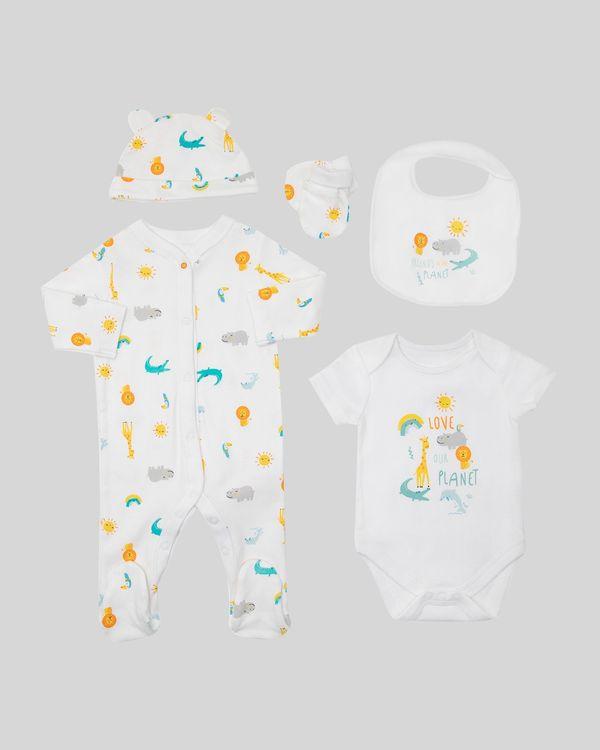 Organic Set - Pack of 5 (Newborn-12 months)