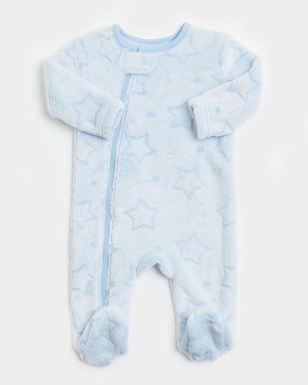 Embossed Zip Sleepsuit (0-23 Months)