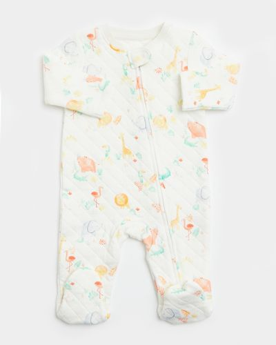 Quilted Sleepsuit (Newborn-12 months) thumbnail