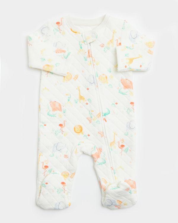 Quilted Sleepsuit (Newborn-12 months)