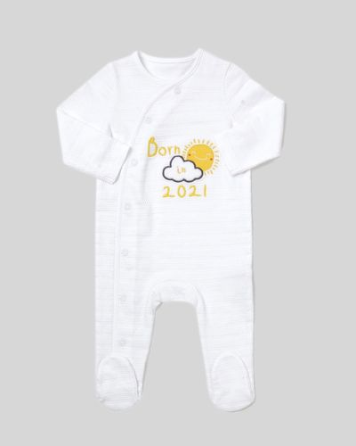 Born In 2021 Sleepsuit (Newborn-9 months)