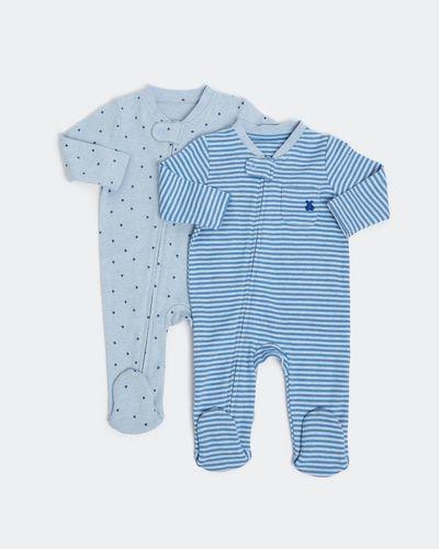 Zip Sleepsuit - Pack Of 2 (Newborn-18 months) thumbnail