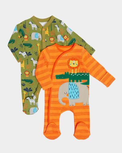 Animal Sleepsuit - Pack Of 2 (Newborn-18 months)