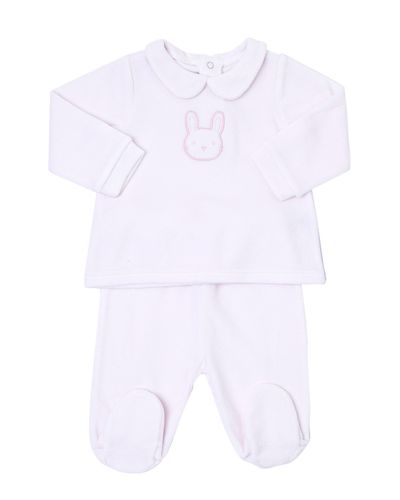 Two-Piece Girls Set (Newborn-9 months)