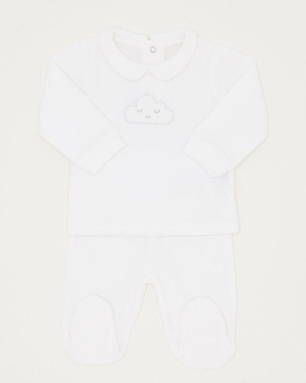 Two Piece Unisex Sleepsuit Set (Newborn-6 months)
