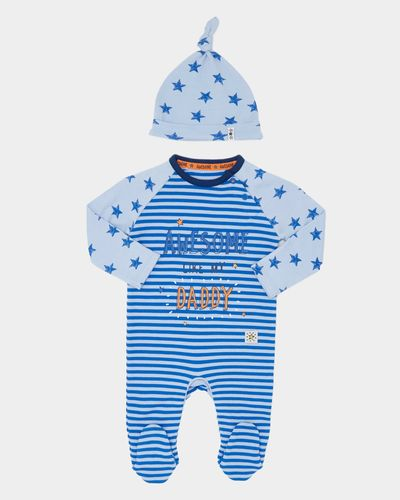 Slogan Sleepsuit With Hat (Newborn-18 months) thumbnail