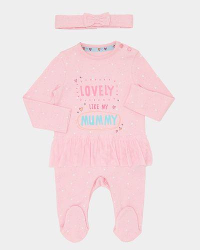 Slogan Tutu Sleepsuit With Headband (Newborn-18 months)