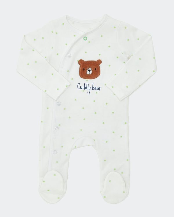 Bear Sleepsuit (Newborn-6 months)