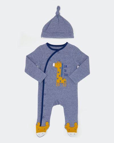Two-Piece Giraffe Sleepsuit (Newborn-18 months) thumbnail