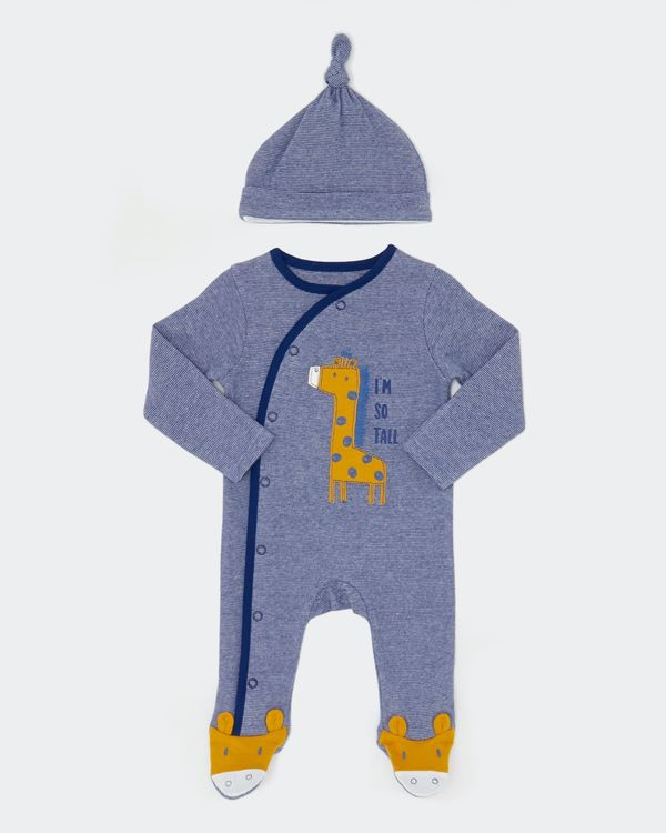 Two-Piece Giraffe Sleepsuit (Newborn-18 months)
