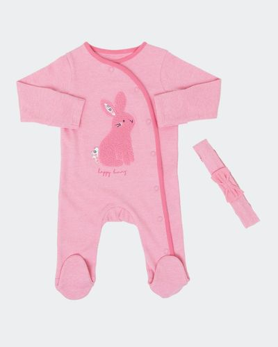 Bunny Sleepsuit Set (Newborn-18 months) thumbnail