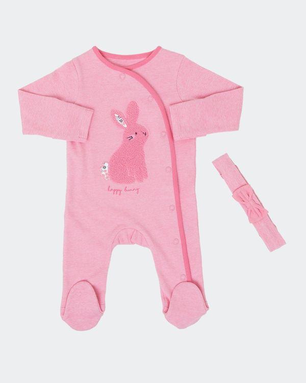 Bunny Sleepsuit Set (Newborn-18 months)