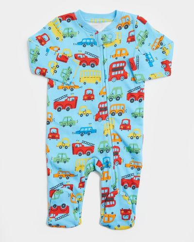 Car Zip Sleepsuit (Newborn-18 months) thumbnail