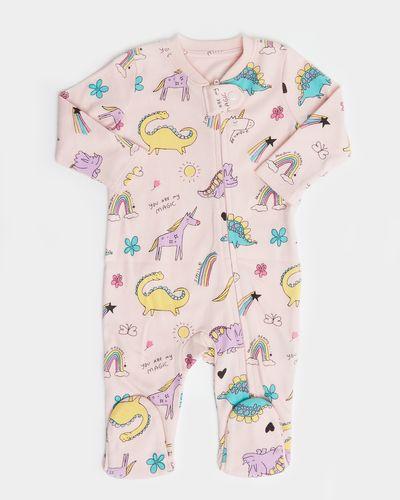 Dino Zip Sleepsuit (Newborn-18 months) thumbnail