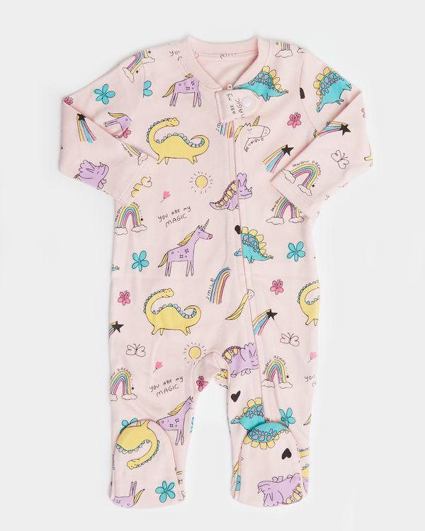 Dino Zip Sleepsuit (Newborn-18 months)