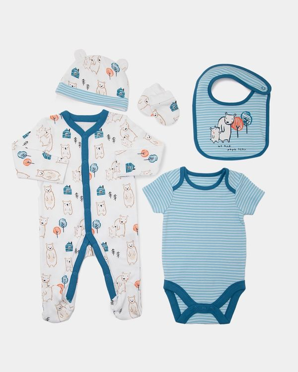 Bear Gift Set - Pack of 5 (Newborn-6 months)