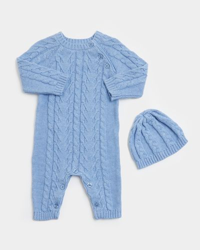 Two-Piece Cable Romper (0-12 months) thumbnail