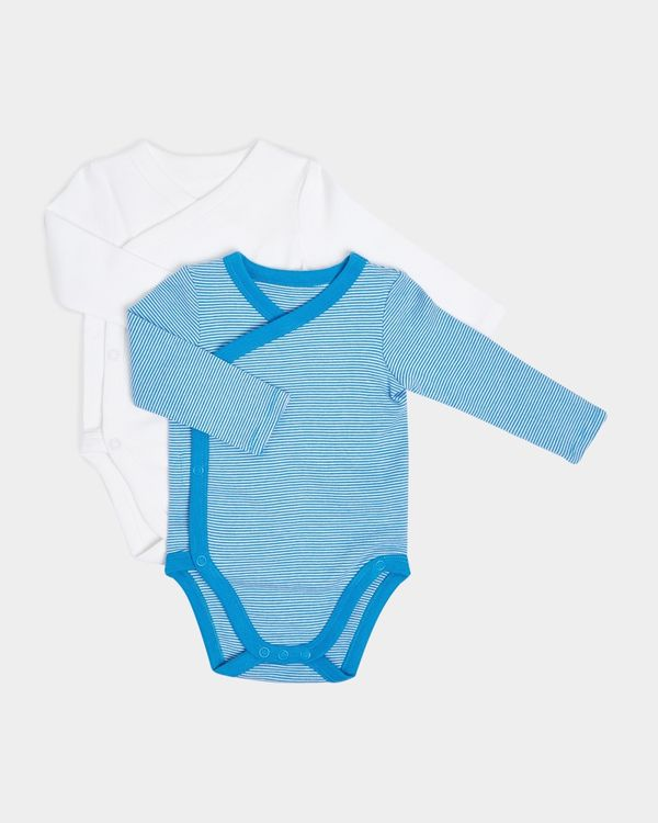 Crossover Vests - Pack Of 2 (Newborn-12 Months)