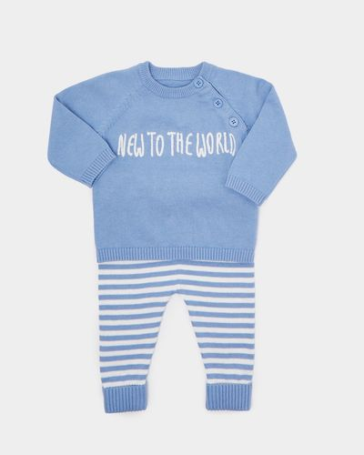 Two-Piece Knit Set (Newborn-12 months) thumbnail