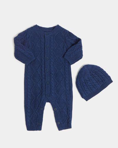 Two-Piece Knit Romper (Newborn-12 months)