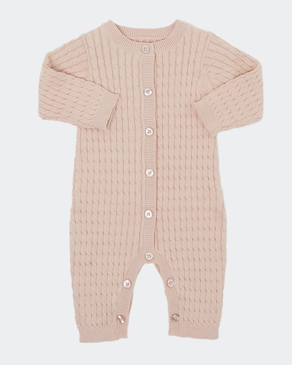 Knit Romper (Newborn-12 months)