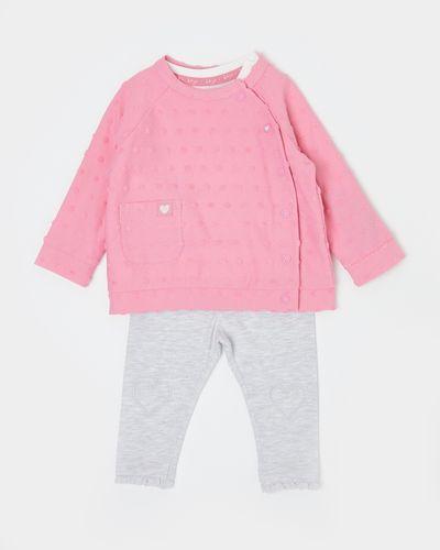 Three-Piece Spot Jacket Set (Newborn-12 months)
