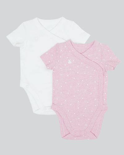 Crossover Vest - Pack Of 2 (Newborn-12 months)