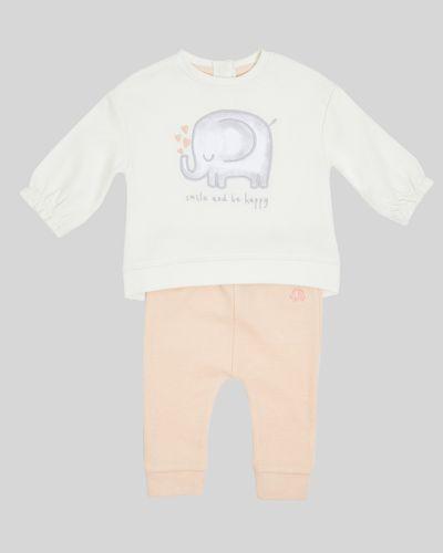 Two-Piece Elephant Sweat Set (Newborn-12 months)
