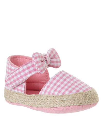 Check Bow Shoes