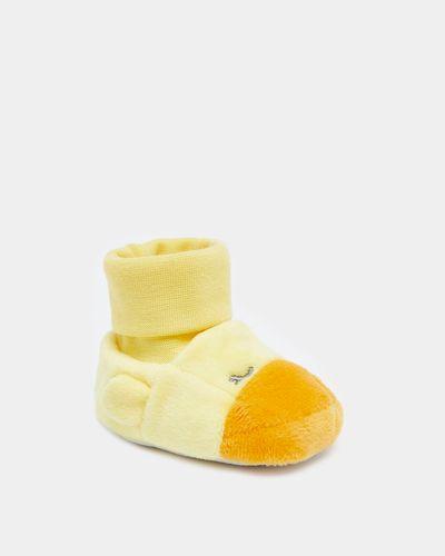 Duck Sock Top Booties (0-12 months)