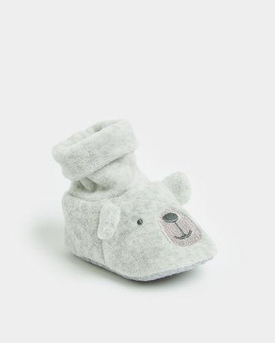 Bear Velour Sock Top