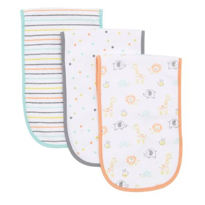 Unisex Burping Cloths - Pack Of 3