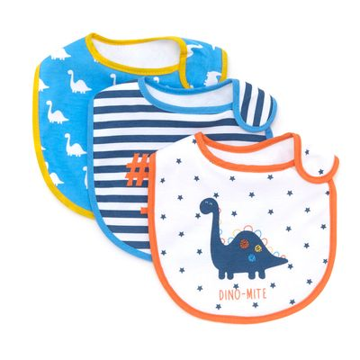 Boys Bibs - Pack Of 3