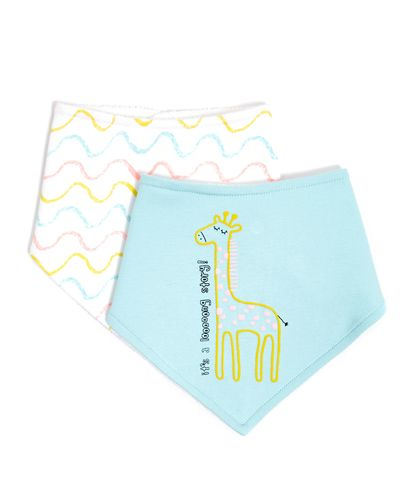 Safari Bibs - Pack Of 2