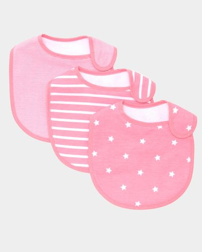 Girls Bibs - Pack Of 3