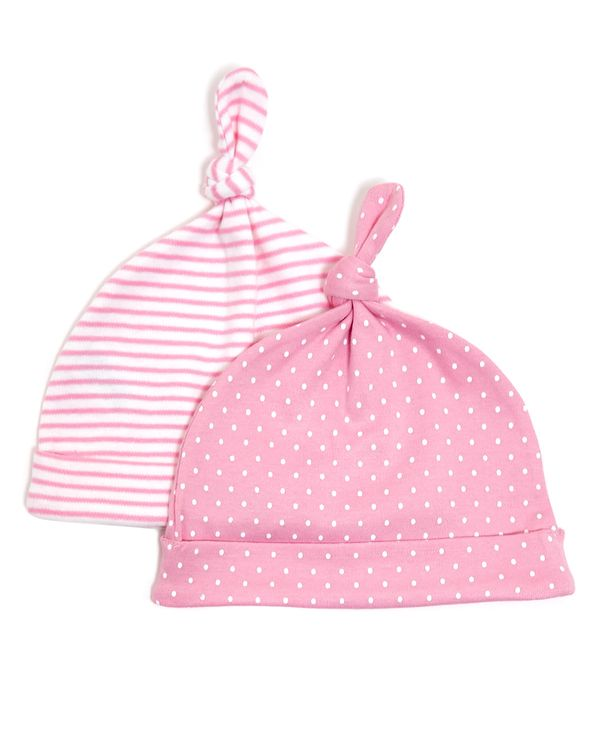Girls Hats - Pack Of 2