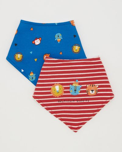 2pk Boys Fashion Bib