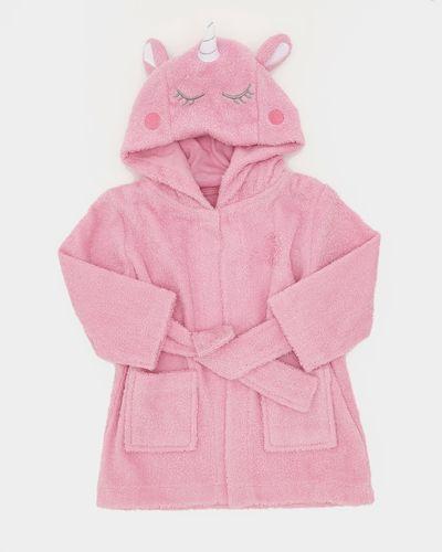 Unicorn Towelling Robe (0-12 months)
