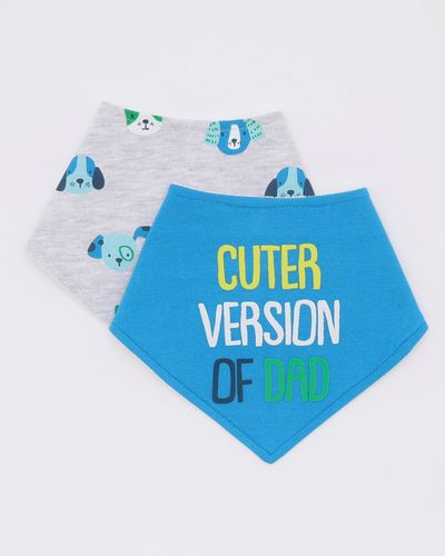 Slogan Bibs - Pack Of 2
