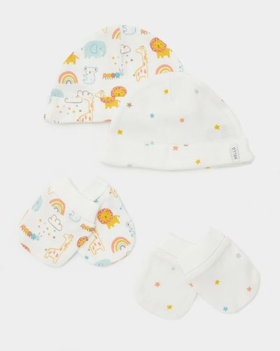 Hat And Mitt - Pack Of 2