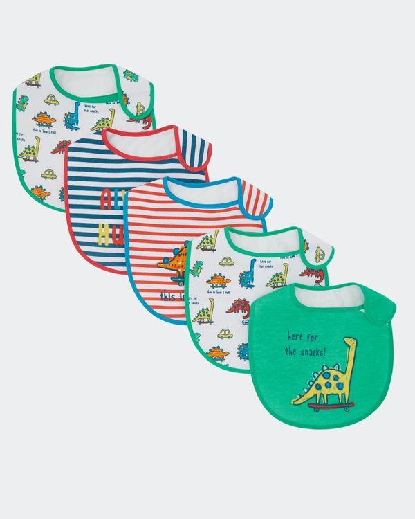 Dino Bibs - Pack Of 5