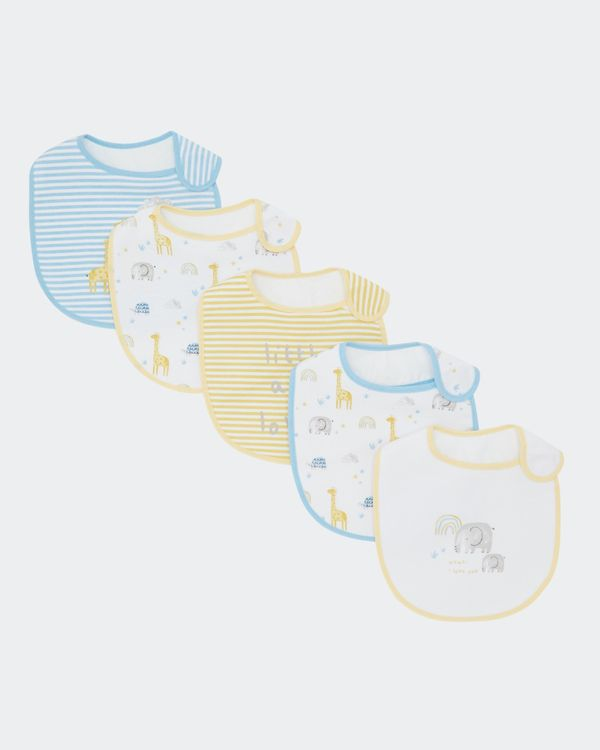Elephant Bibs - Pack Of 5