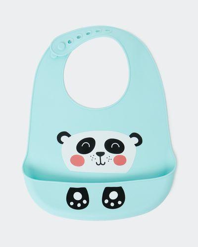 Silicone Panda Bib thumbnail
