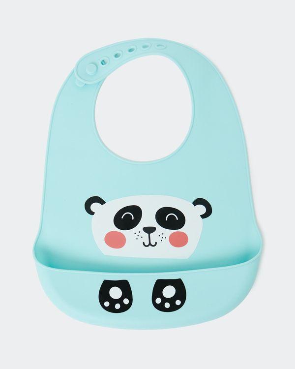 Silicone Panda Bib