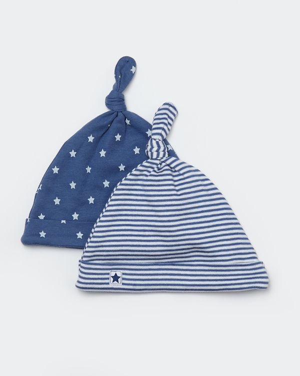 Two-Pack Star Hat (0-12 months)