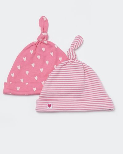 Two-Pack Heart Hat (0-12 months)