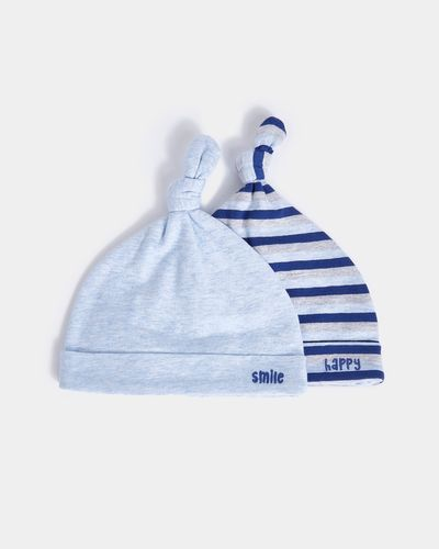 Stripe Hat - Pack of 2 (0-12 months)