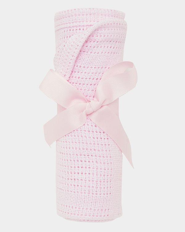 Pink Cellular Blanket